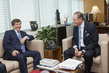 Deputy Secretary-General Meets Foreign Minister of Turkey 0.7546258