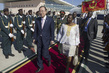 Secretary-General Arrives in Mozambique