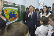 Secretary-General Visits School in Sochi 1.0