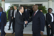 Secretary-General Speaks to Press with Foreign Minister of Mozambique 1.0