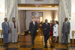 President of Mozambique Hosts Dinner for Secretary-General 3.759204