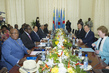 UN and World Bank Heads Meet Head of DR Congo Senate