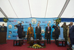 Secretary-General and World Bank President Lay Foundation Stone for Initiative Against Gender-Based Violence 2.284848