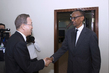Secretary-General and World Bank President Meet with President of Rwanda 2.284848