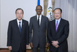 Secretary-General and World Bank President Meet with President of Rwanda 0.037834663