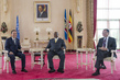 Secretary-General and World Bank President Meet with President of Uganda 2.284848