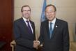 Secretary-General Meets Norway's Foreign Minister 3.756281