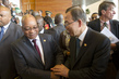 Secretary-General Mingles with Heads of State at AU Anniversary 3.756281