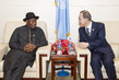 Secretary-General Meets with President of Nigeria 3.756281
