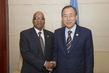 Secretary-General Meets with President of South Africa 3.756281