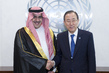 Secretary-General Meets Head of Saudi Olympic Committee 2.8559604