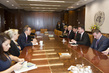 Secretary-General Meets Foreign Minister of Slovakia 2.8558917