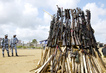 Light Weapons Destroyed at Ceremony in Abidjan 8.802368
