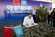 Secretary-General Visits Peacekeeping Military Training Centre in Beijing 1.0