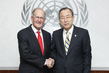 Secretary-General Meets Former General Assembly President 1.0490437