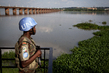 MINUSMA Peacekeeper Patrols Site of Mixed Commission Meeting, Bamako 4.602135