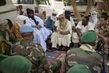 Military Delegation from Bamako Arrives in Tessalit, Northern Mali 4.6406116