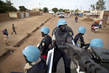 MINUSMA Police Officers Patrol Streets of Gao, Mali 6.4203744