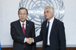 Secretary-General Meets New Permanent Representative of Slovenia 1.5823464