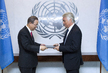 New Permanent Representative of Slovenia Presents Credentials 1.5691439