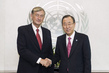 Secretary-General Meets Former President of Slovenia 1.5691439