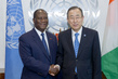 Secretary-General Meets President of Côte d'Ivoire 0.40246555