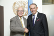 Deputy Secretary-General Meets Director General Emeritus of IAEA 1.9764448