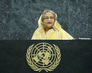 Prime Minister of Bangladesh Addresses General Assembly 1.0732961
