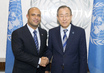Secretary-General Meets Prime Minister of Haiti 0.9562715