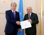 Permanent Representative of Venezuela in Geneva Presents Credentials 7.242757