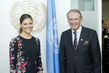 Deputy Secretary-General Meets Crown Princess of Sweden 7.242757