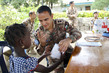 Jordanian Peacekeepers of UNOCI Provide Medical Service to Ivorian Children 0.69590634