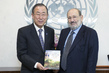 Secretary-General Meets Writer Umberto Eco 2.8552313