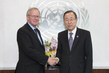 Secretary-General Meets Chair of Disarmament Advisory Board 2.8552313