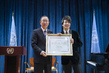 Secretary-General Designates Pianist Lang Lang as UN Messenger of Peace 8.218584