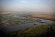 Aerial View of Niger River, Mali 1.810575