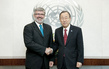 Secretary-General Meets Defense Minister of Slovenia 1.5821682