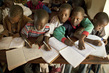 Students in Newly Painted Classroom at Public School in Taliko, Bamako 7.8156433