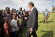 Special Envoy and MONUSCO Head Arrive in Kiwanja 4.5534015