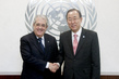 Secretary-General Meets Finance Minister of Italy