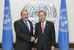Secretary-General Meets Foreign Minister of Israel 2.8552313