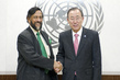 Secretary-General Meets Head of Climate Change Panel 2.8552313