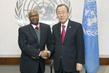 Secretary-General Meets Mali's Minister of National Reconciliation