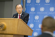 Secretary-General Speaks to Press on Mandela's Death