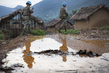 MONUSCO Peacekeepers Patrol Town of Pinga, Noth Kivu 12.446253