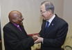 Secretary-General Meets Archbishop Desmond Tutu 3.7581987