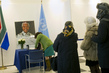 UN Staff Sign Mandela Condolence Book