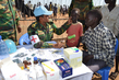 UNMISS Peacekeepers Assisting Displaced Civilians 3.209302