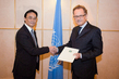 Mongolian Representative Presents his Credentials to UNOG Director-General 1.0