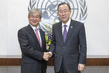 Secretary-General Meets ICTY Judge 2.8623128